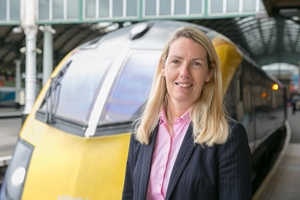 Hull Trains Managing Director Louise Cheeseman