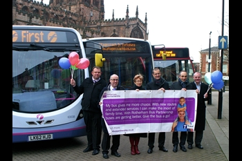 Rotherham Bus Users Continue To Rise Firstgroup Plc
