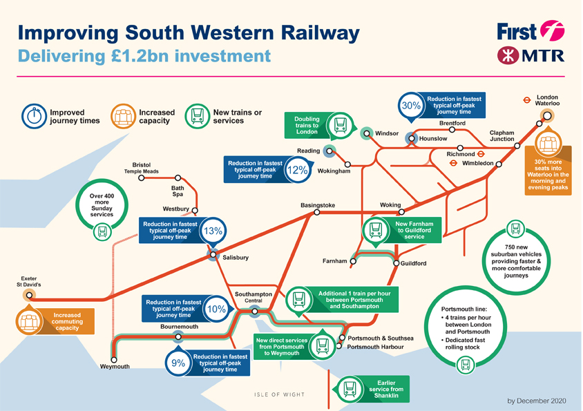 Https Www Gov Uk Government News First Mtr South Western Trains Limited Wins South Western Franchise